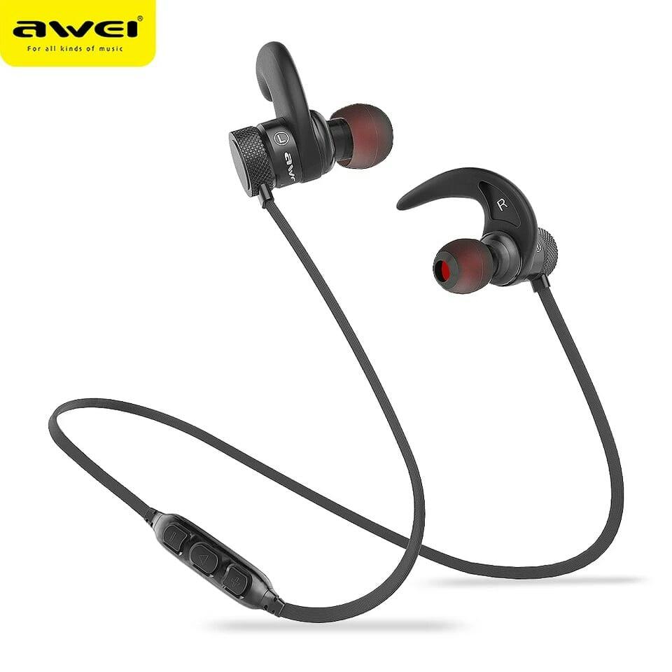 AWEI AK9 Bluetooth Deep bass 10h Music playtime Earphones